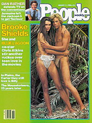 Brooke Shields 15 years in PeopleMagazine