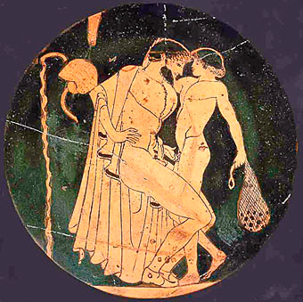 Ancient Greek Art: Child Porn depicting criminal Child Abuse (by today's standards)