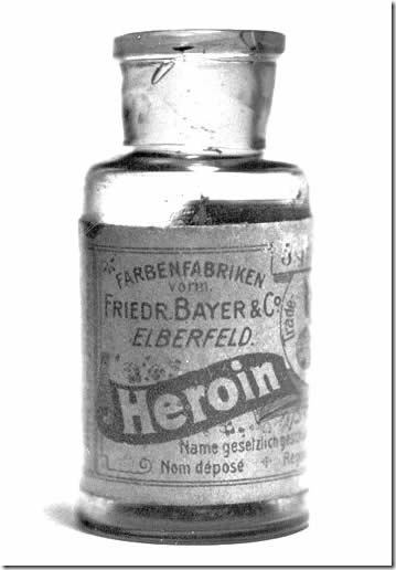 Reputable medicine company Bayer sold medical heroin