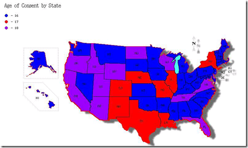 Age of consent by state in USA