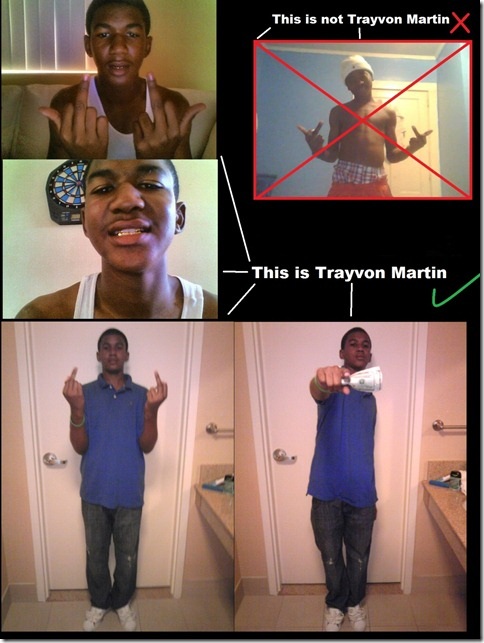 The true 17 year old Trayvon Martin