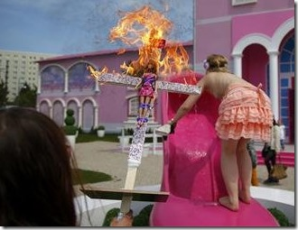 barbie-crucified-burned