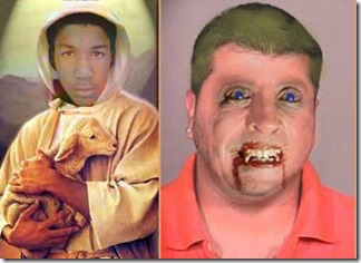 How Media would like to depict them (Trayvon Martin, George Zimmerman)